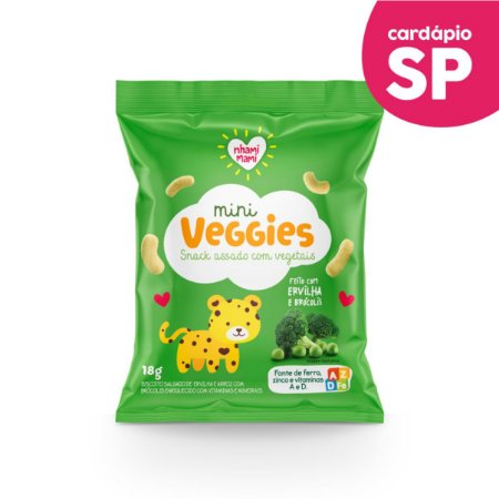SP | MINI VEGGIES Ervilha e Brócolis - Nhami Mami