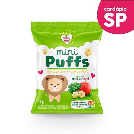 SP   MINI PUFFS  Brócolis e Maçã - Nhami Mami