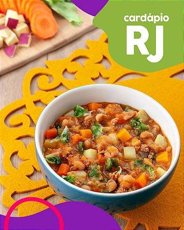 RJ   F2 - Papinha de Cordeiro,  batata doce e escarola