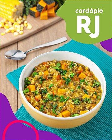 RJ | F2 - Papinha de Peito de frango, milho verde e alho poró