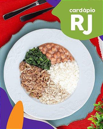 RJ | Prato Feito - Carne Acebolada