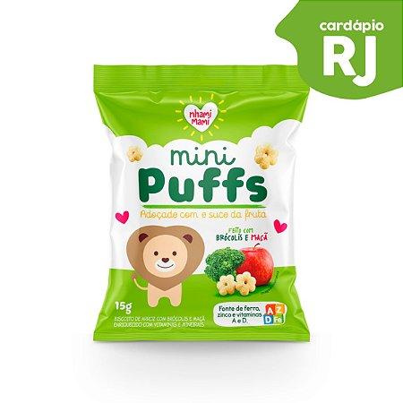 RJ | MINI PUFFS  Brócolis e Maçã - Nhami Mami