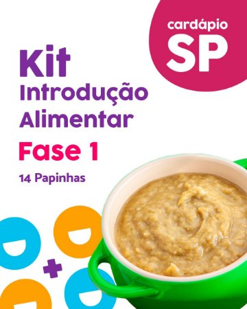 SP   Kit Introdução Alimentar - F1