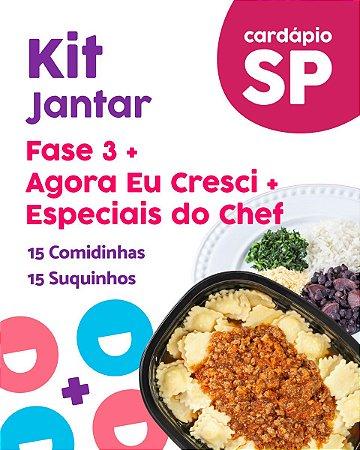 SP | Kit Jantar - Fase 3, AC e EC