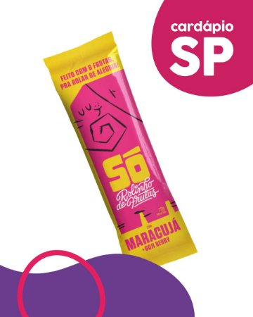 SP   Maracujá e Goji - Só Snacks