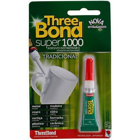 COLA SUPER 1000 THREE BOND INSTANTÂNEA 2GRS