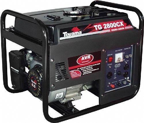 Gerador Toyama TG2800CX  2.5KVA  bivolt 110 e 220 volts