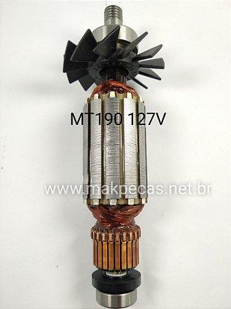 ROTOR 110V PLAINA ELETRICA MAKITA MKP082 MT190 510206-7