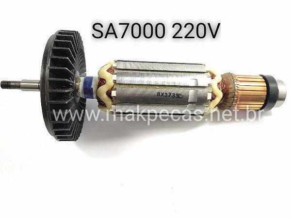 Induzido 220v para lixadeira makita SA7000