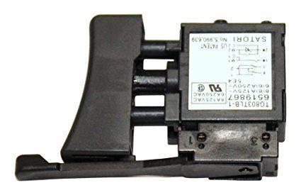 Interruptor para furadeira, parafusadeira makita 6821, HP1500