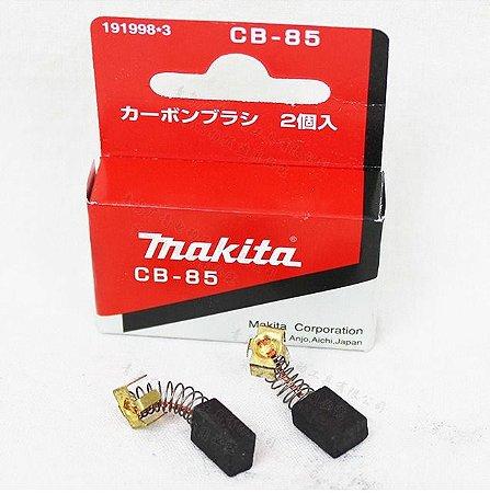 Par de escovas de carvão CB-85 para furadeira Makita HP1630 -196482-3