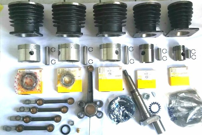 Kit Reparo cabeçote compressor Wayne W900/Chipaerini CJ60/Schulz MSVW 60 - 60 Pés