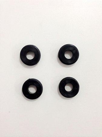 Apoio do couro zm 44 maxxi (jogo 04 peças) - Zm bombas