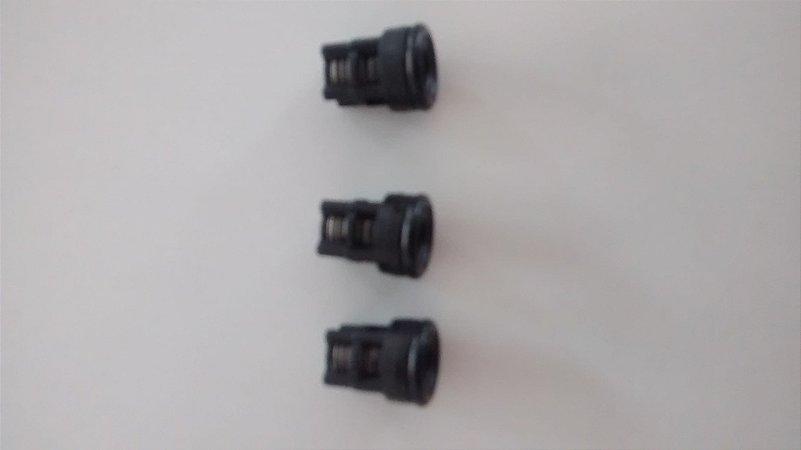 Válvula de retenção para lavadora jacto clean (kit 03 peças)