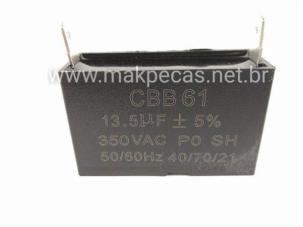 CAPACITOR (13.5UF) GERADOR BRANCO B2T 950, B4T 1300