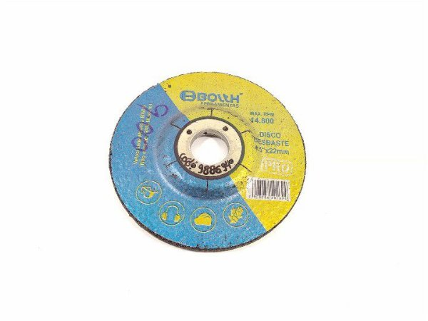 DISCO DE DESBASTE 14.800RPM 4.5''X22MM BOLTH