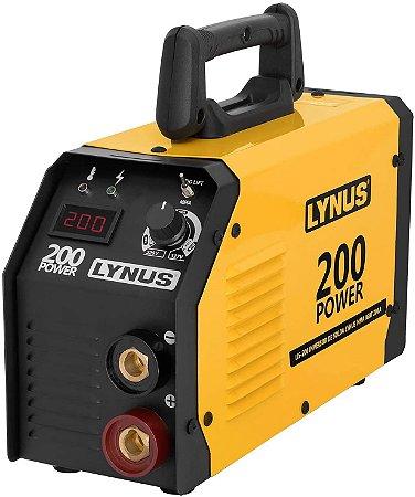 INVERSORA DE SOLDA LIS-200 POWER 200A LYNUS BIVOLT