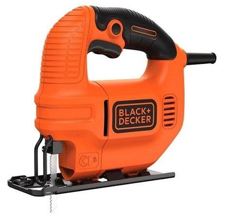 SERRA TICO TICO BLACK & DECKER 127V KS501-BR 420W
