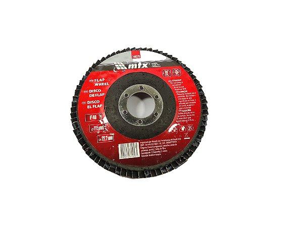 DISCO FLAP 040 4.1/2 115X22,2MM MTX