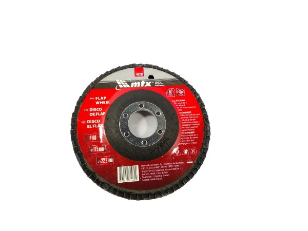 DISCO FLAP 060 4.1/2 115X22,2MM MTX