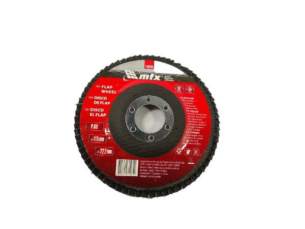 DISCO FLAP 080 4.1/2 115X22,2MM MTX