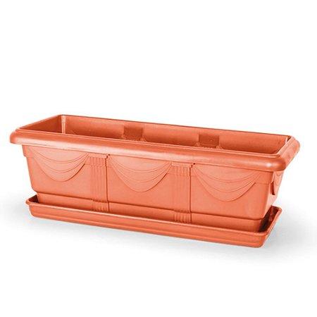 Jardineira Romana N50 11,5 Litros - Cerâmica ATENÇÃO: Pode ser adquirido em kits!