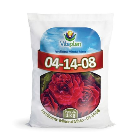 Fertilizante Mineral Misto 04-14-08 - PCT 1Kg
