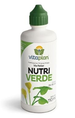 Fertilizante Foliar NutriVerde 06-06-08 110 ML