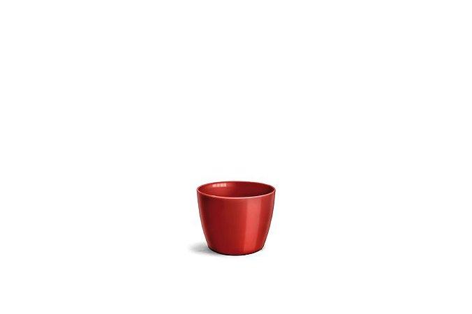 Cachepô N1 Elegance Redondo Vinho 9x11