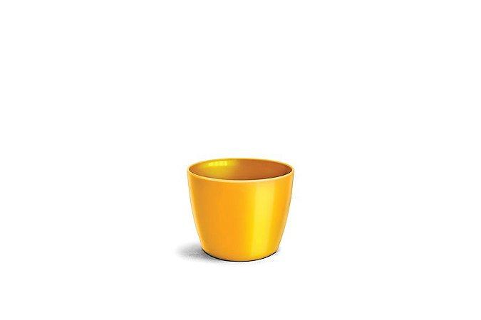 Cachepô N3 Elegance Redondo Amarelo 12x15