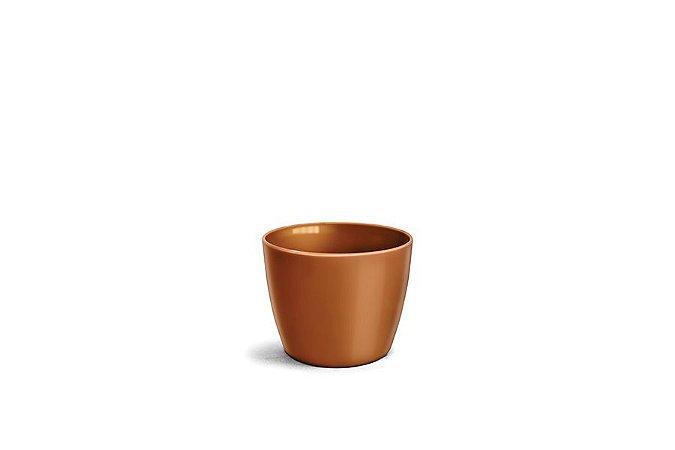 Cachepô N3 Elegance Redondo Dourado 12x15