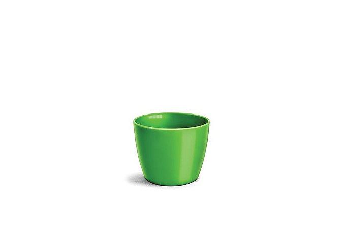 Cachepô N3 Elegance Redondo Verde Limão 12x15