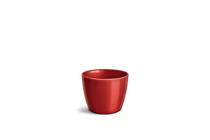 Cachepô N3 Elegance Redondo Vinho 12x15