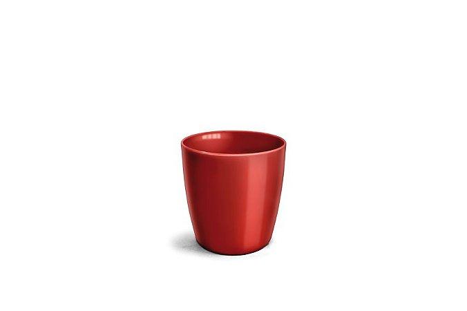 Cachepô N3,5 Elegance Redondo Vinho 15x15