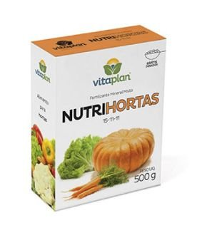 Fertilizante Mineral Nutrihortas - 500 Gramas