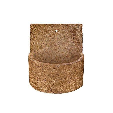 Vaso de Fibra de Coco de Parede Pequeno 10x16