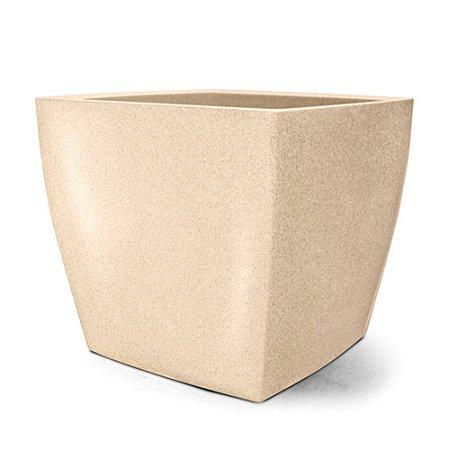 Vaso Classic Quadrado N50 - Areia 50x55