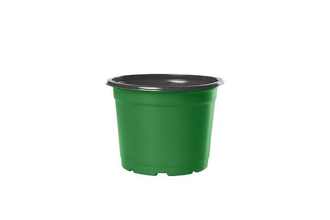 Pote Holambra NP11 0,415 Litros  - Verde e Preto - 50 unidades