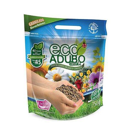 Fertilizante Orgânico Granulado Ecoadubo 750G + GRÁTIS DOSADOR
