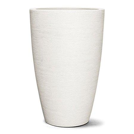 Vaso Grafiato Cônico N85 Branco 85x55