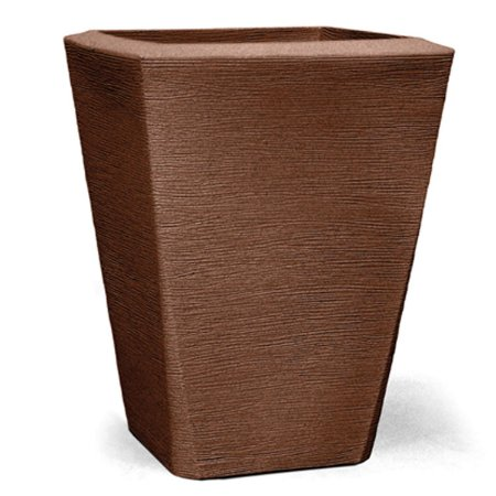 Vaso Grafiato Trapézio N70 Ferrugem 70x52