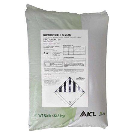 Fertilizante Agroblen Starter 13-25-05 - Saca 22,6 Kg