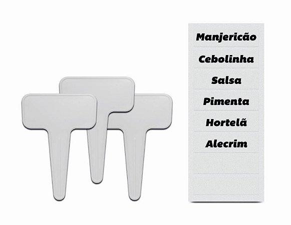 Kit 3 Identificadores e 3 Cartelas de Adesivos