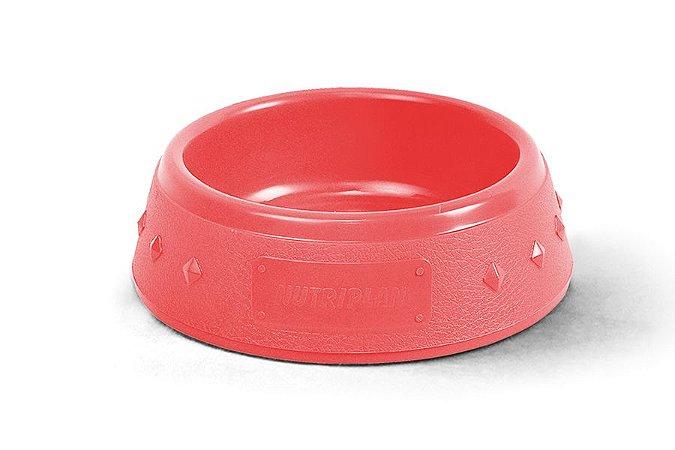 Comedouro para Cães N4 Vermelho 9x25