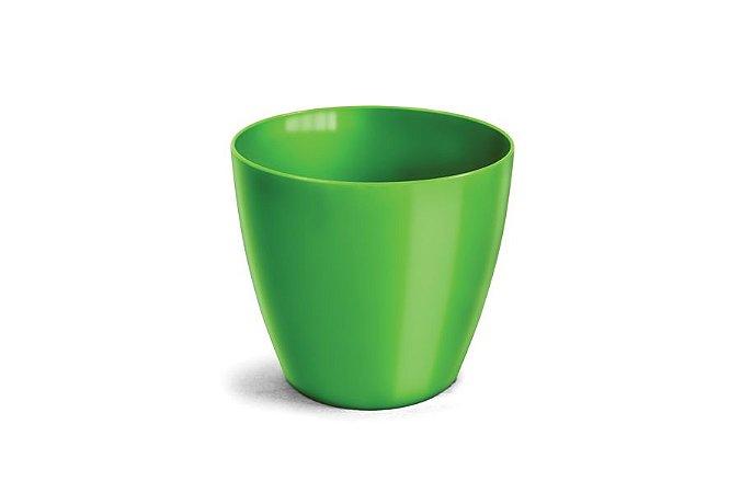 Cachepô N4 Elegance Redondo Verde Limão 23x25