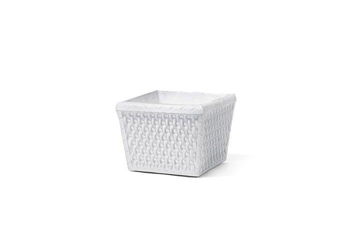Cachepô N10 Athenas Pote Branco 13x11