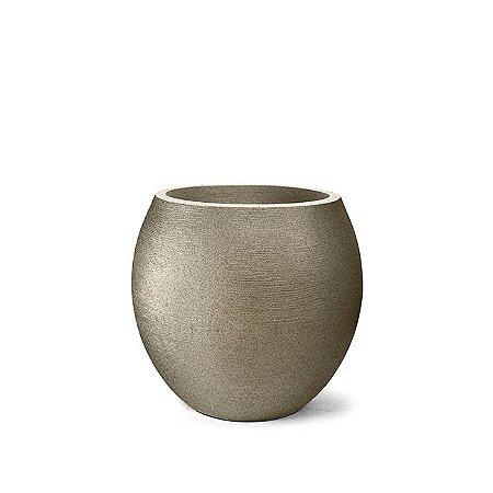 Vaso Grafiato Oval N32 Granito 32x28