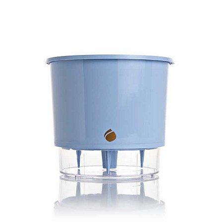 Vaso Auto Irrigável Wishes Azul Serenety N03 – Médio 16x14
