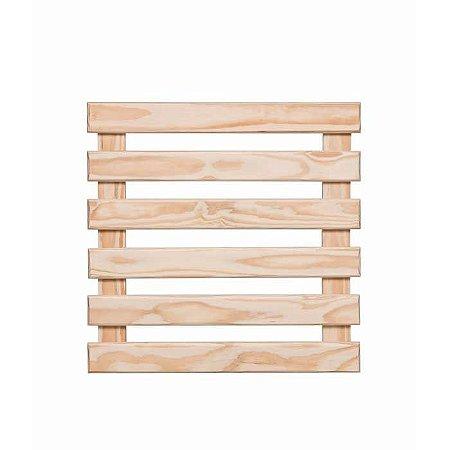 Treliça de madeira 60cm x 60cm