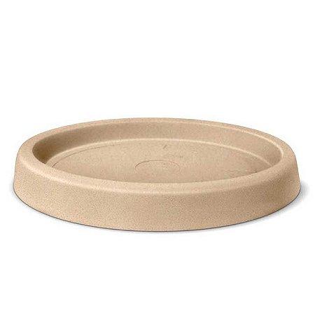 Prato Para Vaso Roto Redondo N41 Areia Nutriplan